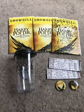 Harry Potter Cursed Child parts 1 & 2 AUTOGRAPHED PLAYBILL + Lots of SWAG NYC