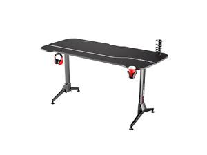 EFurnit Ergonomic Height Adjustable Computer Gaming Desk - Large Desk 160L x 75W