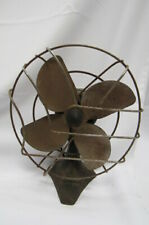 """Antique Table Electric Fan by Chevron 8"""" Metal Blade"""