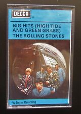 ROLLING STONES Big Hits (High Tide....) 1970's UK MUSIC CASSETTE - PLAY TESTED