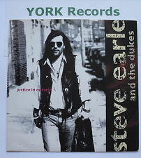 """STEVE EARLE & THE DUKES - Justice In Ontario - Excellent Con 7"""" Single MCA 1441"""