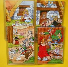 KINDER ASTERIX 4 Puzzle + Cartine