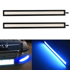 2Pcs Fog Driving Lights 17cm Ultra Blue Waterproof Car COB LED DRL Lamp