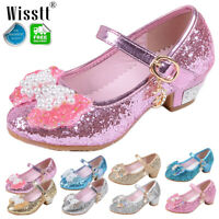 YING LAN Girls Bowknot Dress Cutout Ballerina Princess Party Mary Jane Flat Shoes Toddler//Little Kid