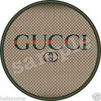 Eßbarer Tortenaufleger Gucci Designer backen Tortenbild DVD Kuchen Zug