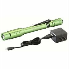 Streamlight 66145 Stylus Pro USB Flashlight w/ 120V AC - Lime