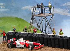 Slot Track Scenics Kametraturm mit Kamerateam 1:32 Dekoration Autorennbahn  CT1