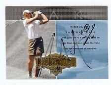 SE-RI PAK 2004 UD - Hall of Fame - LPGA Golf SIGNED AUTOGRAPH Card #68 - Korean