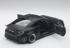 Autoart ROCKET BUNNY TOYOTA 86 MATT BLACK/BLACK WHEELS 1/18 Scale New In Stock
