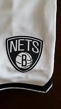 Mens NBA Brooklyn Nets White Home adidas swingman shorts Large Closeout Prices