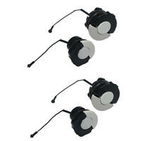 4x Gas Tank Fuel Cap Oil Cap for Stihl Chainsaw MS210 MS230 MS250 MS360 Part