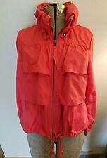Ann Taylor Loft tiered jacket wind breaker size S petite convertible collar
