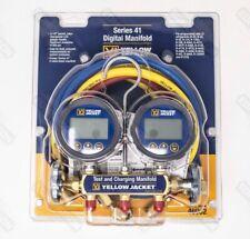 Yellow Jacket 46062 Series 41 Digital Manifold w/ 3-Pack PLUS II Hoses