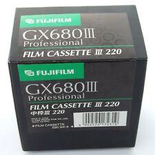 Fuji GX680 Roll Film Insert III 220, case, brand new in box (19490)