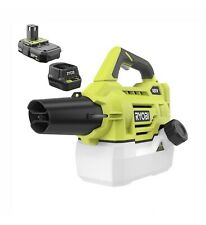 One+ 18-Volt Lithium-Ion Cordless Fogger/Mister W 2.0 Ah Battery and Charger