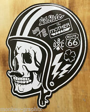 Oldschool Sticker Gentlemen Biker Bobber Aufkleber Route 66 Harley Chopper USA