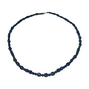Jay King DTR .925 Sterling Silver Lapis Lazuli Bead Necklace