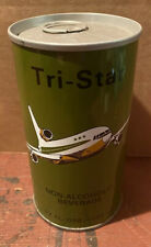 TRI-STAR NON-ALCOHOLIC BEVERAGE Beer CAN 4 SAUDI ARABIA NEW JERSEY S/S AIRPLANE
