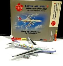 Star Jets SJCAL093 China Airlines 2000 Boeing 747-400 1/500 scale model airplane