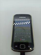 Samsung  Galaxy GIO GT-S5660 - Dark Silver  phone handy Telefon Smartphone