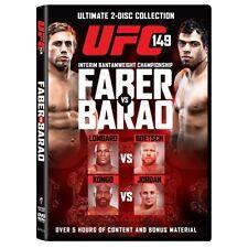 UFC: 149 Faber vs Barao (2 Discs) - DVD New Sealed