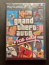 NEW Grand Theft Auto Vice City PS2 1st Printing Black Label - UNOPENED/SEALED