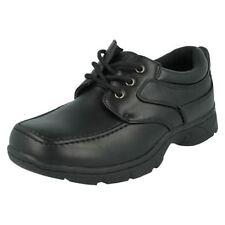 Chaussures noires à lacets pour garçon de 2 à 16 ans pointure 33