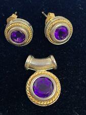 14k Gold Earrings And Pendnt New listing Ross Simons Sterling Silver