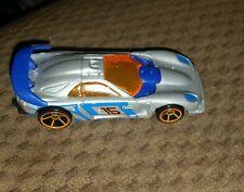 2008 Mystery Hot Wheels Callaway C7 Silver Orange OH5SP Orange Windows