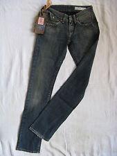 We Are Replay Ladies Jeans Skinny Stretch Denim w25/l32 LOW WAIST SLIM LEG PIPE