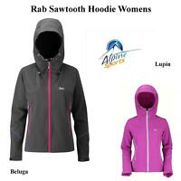 Rab Sawtooth Hoodie Softshell Jacket Womens Clearance UK8 & 16 Left
