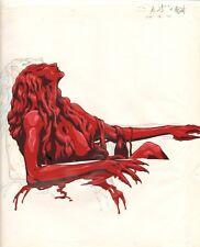 Anime Cel Vampire Hunter D Cel OverSized #1316