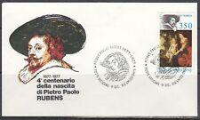 Vatican Scott 629 FDC - P. P. Rubens