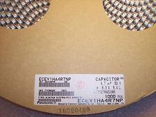 QTY (50) 4.7uf 50V BI POLAR SMD ELECTROLYTIC  ECEV1HA4R7NP PANASONIC NON POLAR