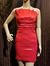 Cocktail Party Mini Dress Red Holiday NWT Prom