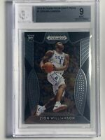 Zion Williamson 2019 Panini Prizm Draft Picks #1 Rookie RC Card - BGS Mint 9