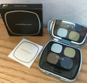 BareMinerals READY Eyeshadow 4 Shades 4.0 THE WILD THING Makeup Quad Palette