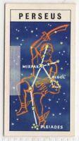 Perseus Constellation Ptolemy Solar System Space Vintage Trade Card