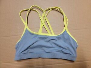 Victoria's Secret Yoga Crossback LOVE PINK Sports Bra Size Medium