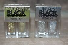 THE NEW BLACK Shimmer Twins  2 Piece Set Revolver & Golden Ticket Nail Polish