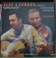 CHARLES WIZEN/RAPHAEL FAYS JAZZ A CORDES QUINTET DJANGOLOGY DOUBLE FRENCH LP
