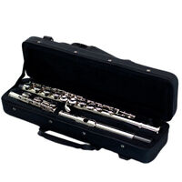 Nickel Plated C Foot 16 Holes Flute - Low Price Guarantee !
