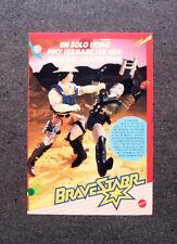 I024-Advertising Pubblicità-1987- MARSHALL BRAVESTARR , MATTEL
