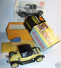 ORIGINAL OLD CORGI CLASSICS BRITAIN RENAULT 12/16  1910 COUPE REF 9032 IN BOX