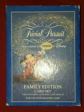 Trivial Pursuit Disney Family Edition Master Game Use Parker Brothers