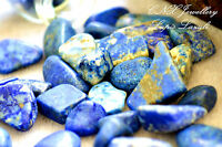 Tumbled Natural Gemstone Crystal Lapis Lazuli 5g Chip Stone Birthstone Large
