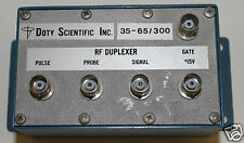 Doty Scientific Inc RF DUPLEXER 35-35/300 + Free Expedited Shipping!!!
