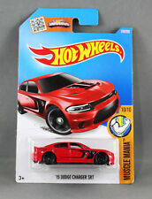 "HOT WHEELS ""15 DODGE CHARGER SRT"" (MUSCLE MANIA SERIES 10/10) 130/250 NEW/SEALED"