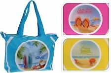 Lovely Extra Large Beach Bag Tote Picnic Bag Holiday Canvas Beach Bag Shopper