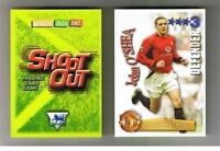 Shoot Out 2003/04 (03/04) Green back football cards – VARIOUS Teams E to M